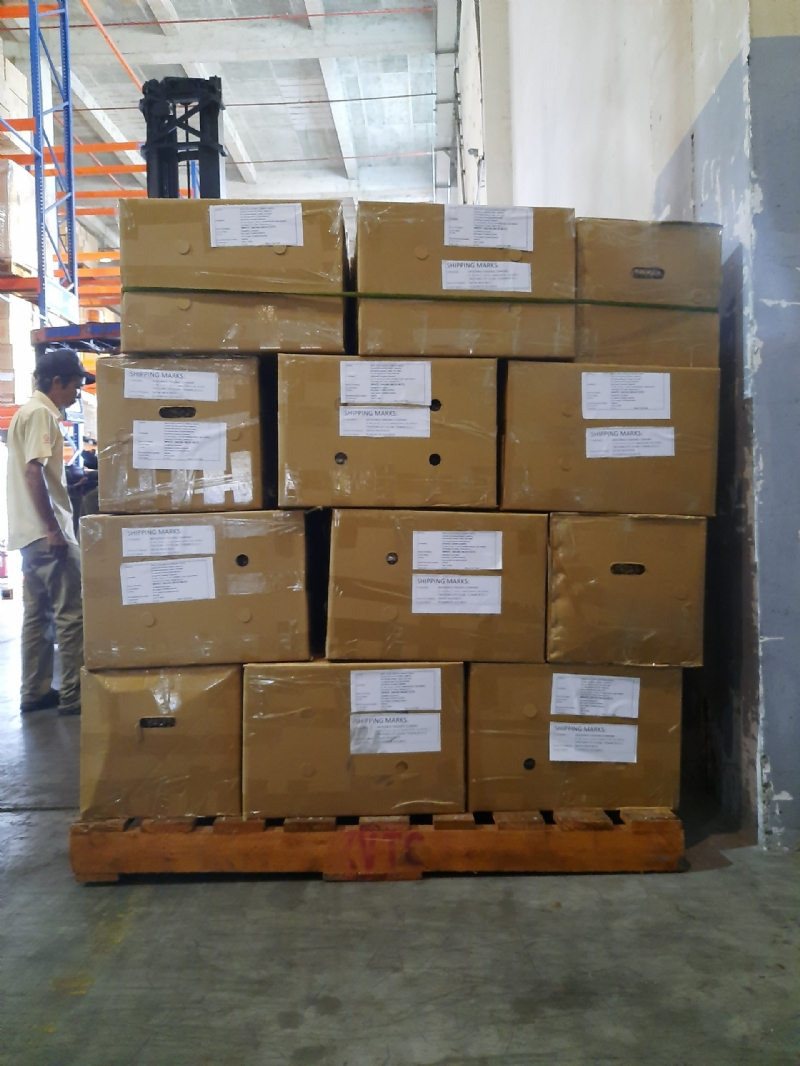 EXPORT - LCL SHIPMENT TO TAICHUNG, TAIWAN