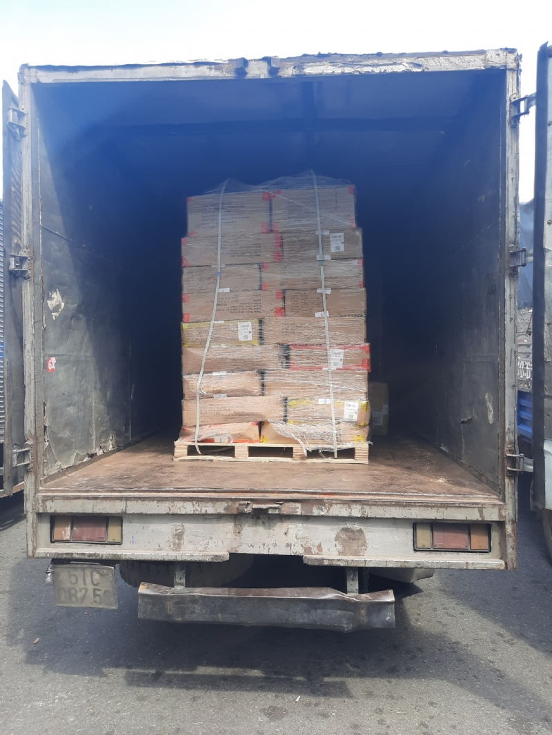 IMPORT CLOTHES FROM SHANGHAI, CHINA TO CAT LAI PORT, HCM