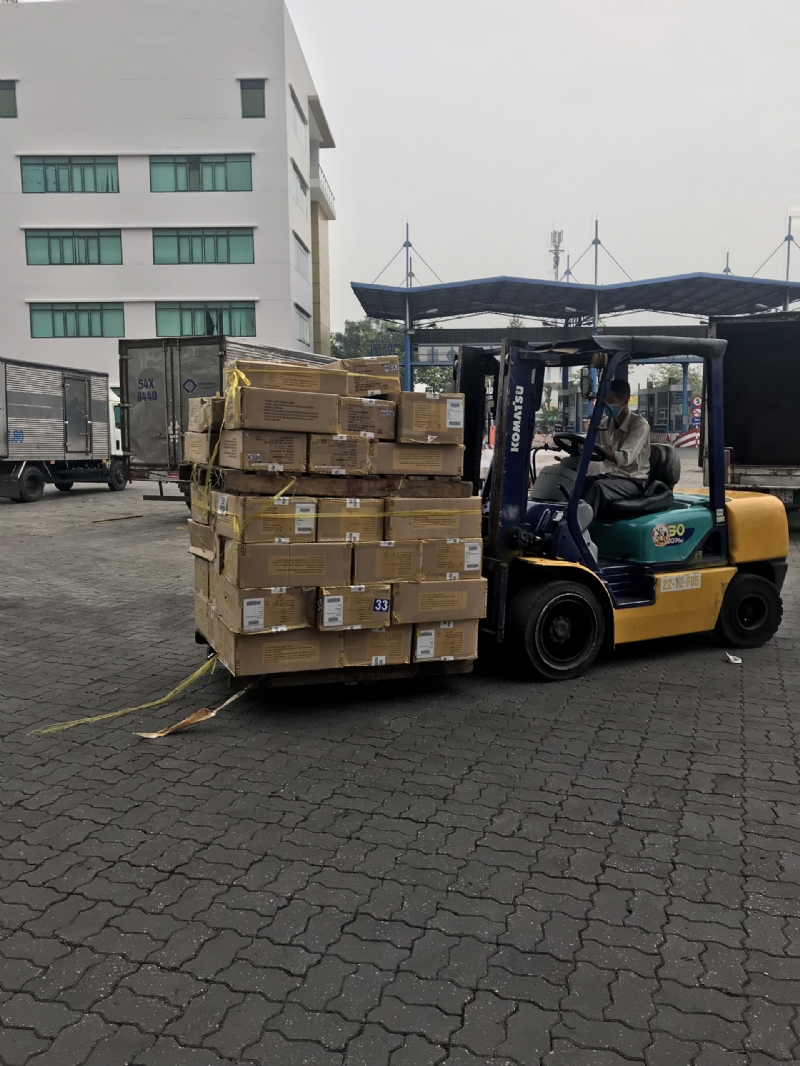 IMPORT CLOTHES FROM LESOTHO TO CAT LAI PORT, HCM