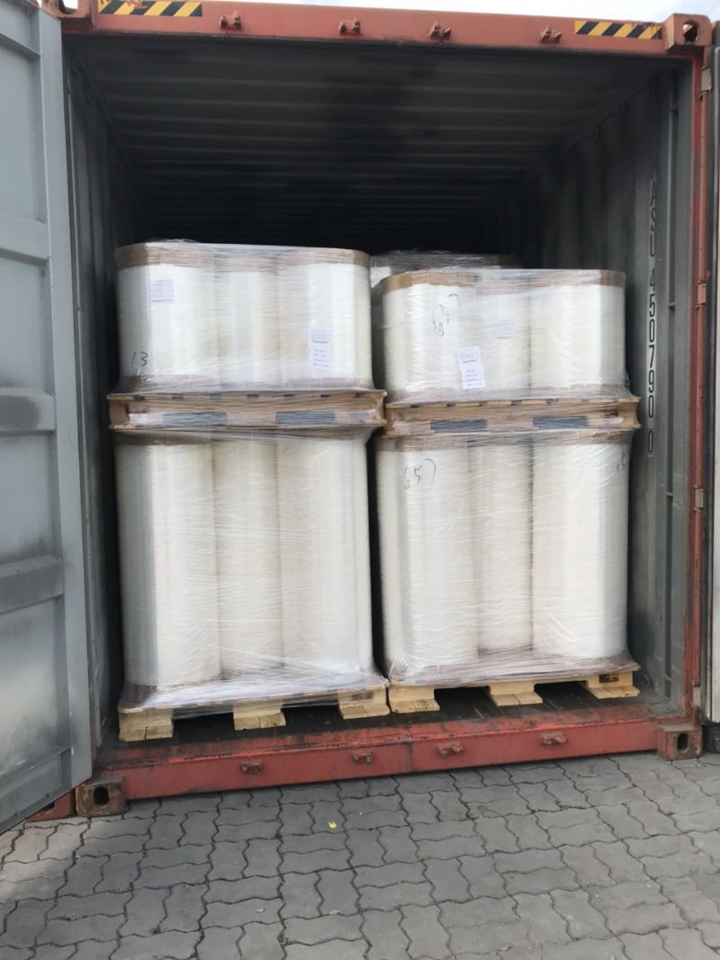 IMPORT BOPP FILM FROM NINGBO TO HCM - 1 CONT